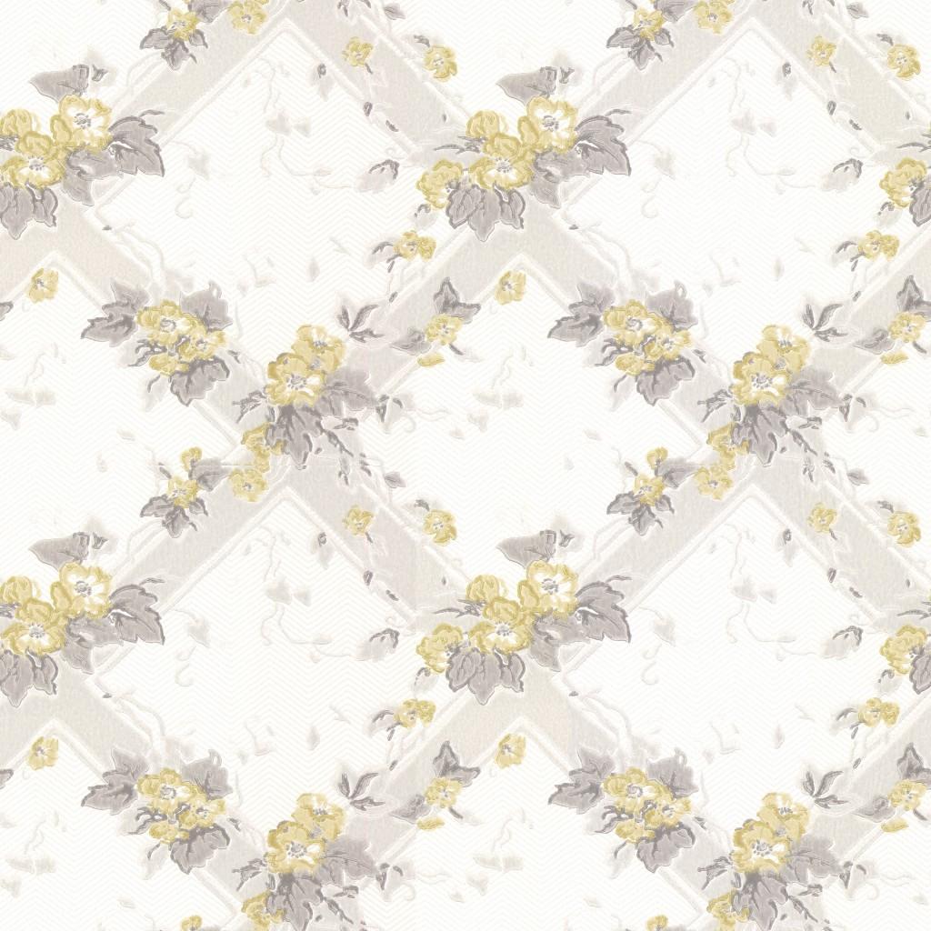 Flowertrellis yellow decor maison - Dicor maison ...