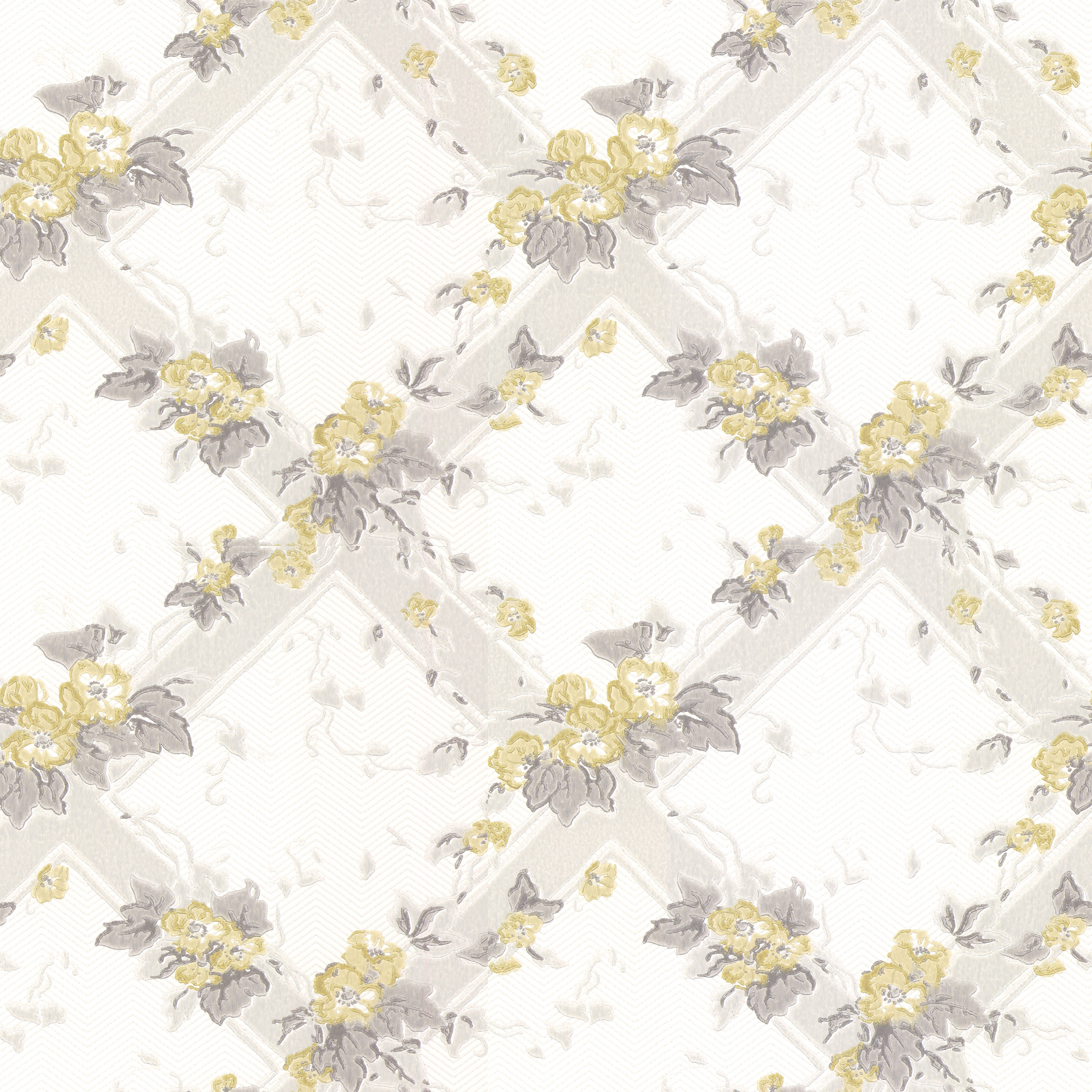 Flowertrellis yellow decor maison for Decore maison