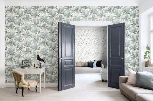 Magnolia turquoise decor maison for Decore maison