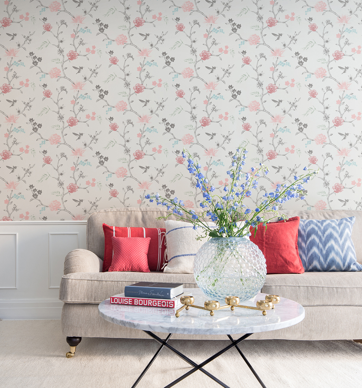 Flower Bird Decor Maison