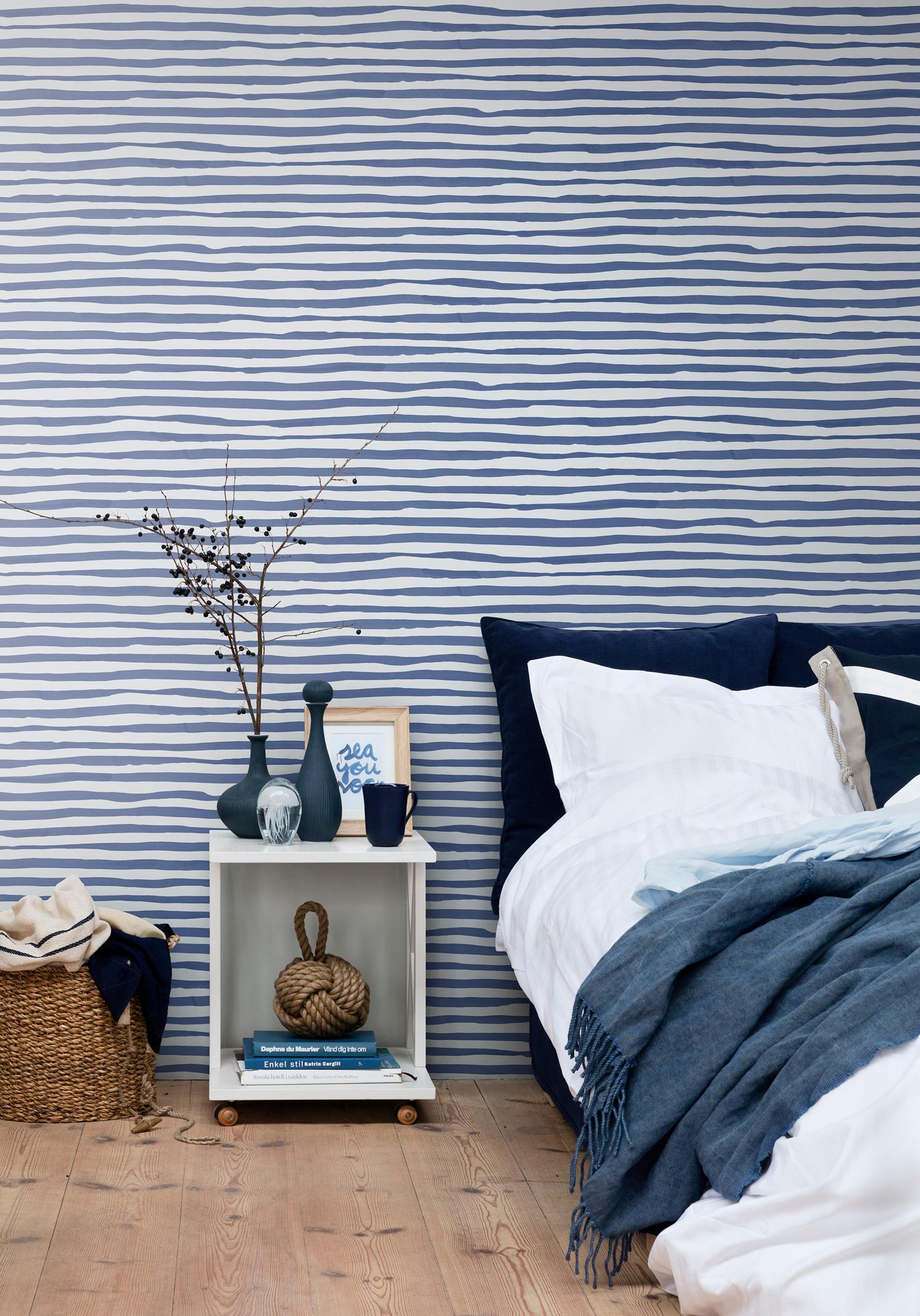 Breton stripes blue | Decor Maison